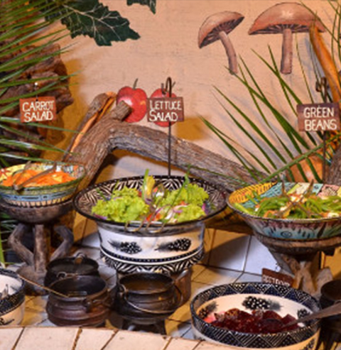 The Boma Serving Table